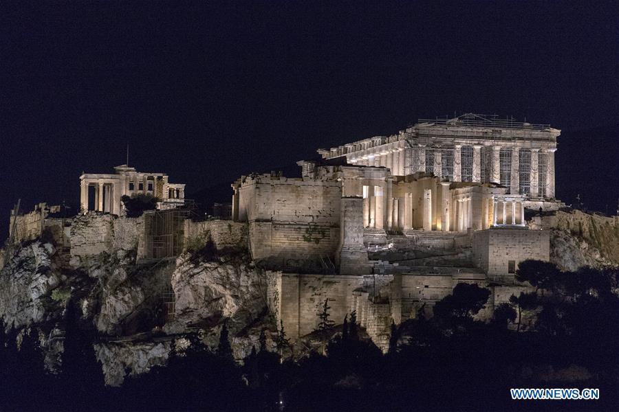GREECE-ATHENS-ACROPOLIS-NEW LIGHTING