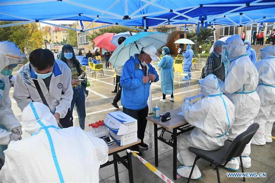 Over 7.5 million people sampled for COVID-19 testing in Qingdao