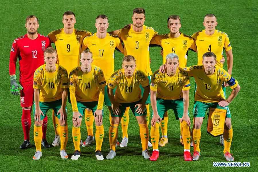 (SP)LITHUANIA-VILNIUS-FOOTBALL-UEFA NATIONS LEAGUE-LITHUANIA VS ALBANIA