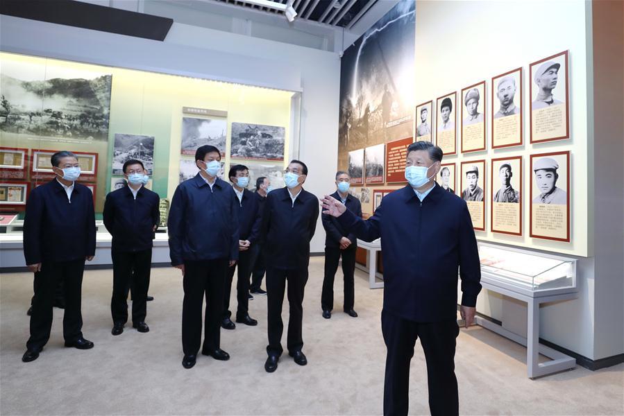 CHINA-BEIJING-XI JINPING-EXHIBITION-WAR TO RESIST U.S. AGGRESSION AND AID KOREA (CN)