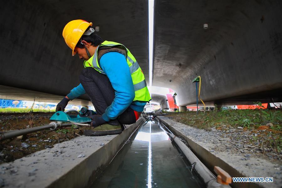 In pics: Guiyang-Nanning high-speed railway in Dushan County, Guizhou