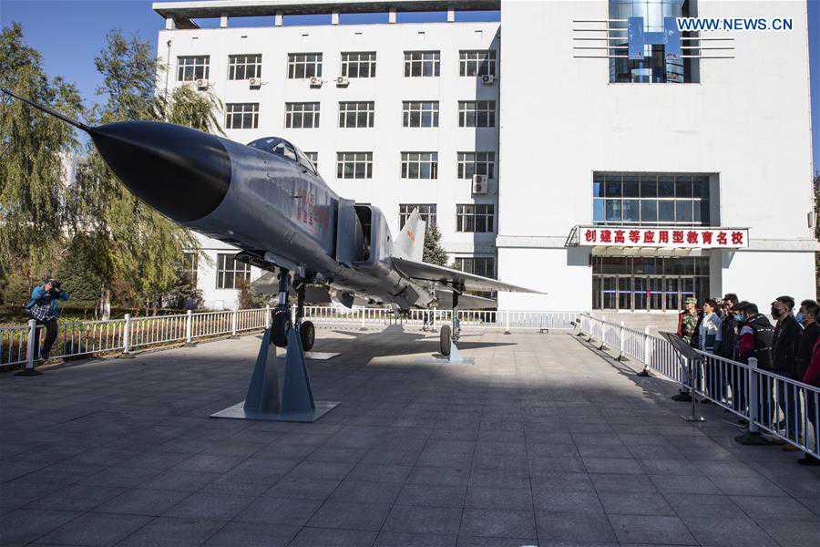 CHINA-HARBIN-SCHOOL-RETIRED WEAPONRY-DISPLAY(CN)