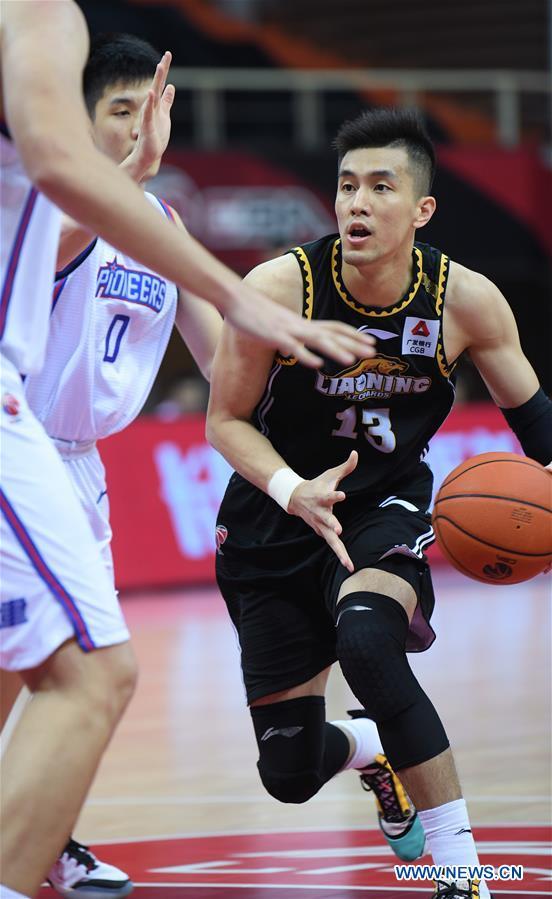 (SP)CHINA-ZHUJI-BASKETBALL-CBA LEAGUE-TIANJIN VS LIAONING (CN)