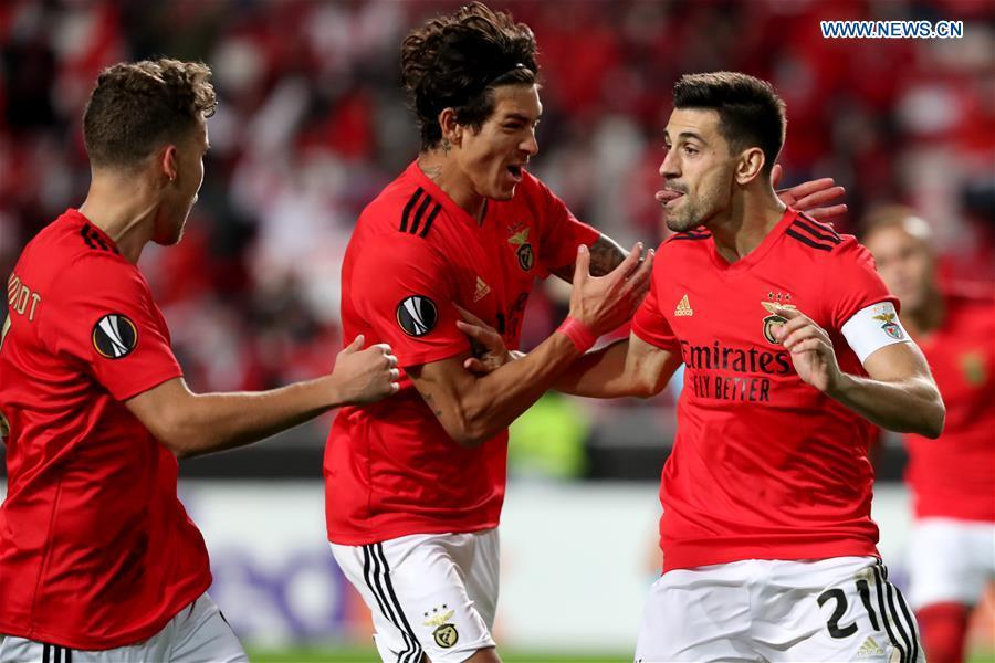 (SP)PORTUGAL-LISBON-FOOTBALL-UEFA EUROPA LEAGUE-SL BENFICA VS STANDARD LIEGE