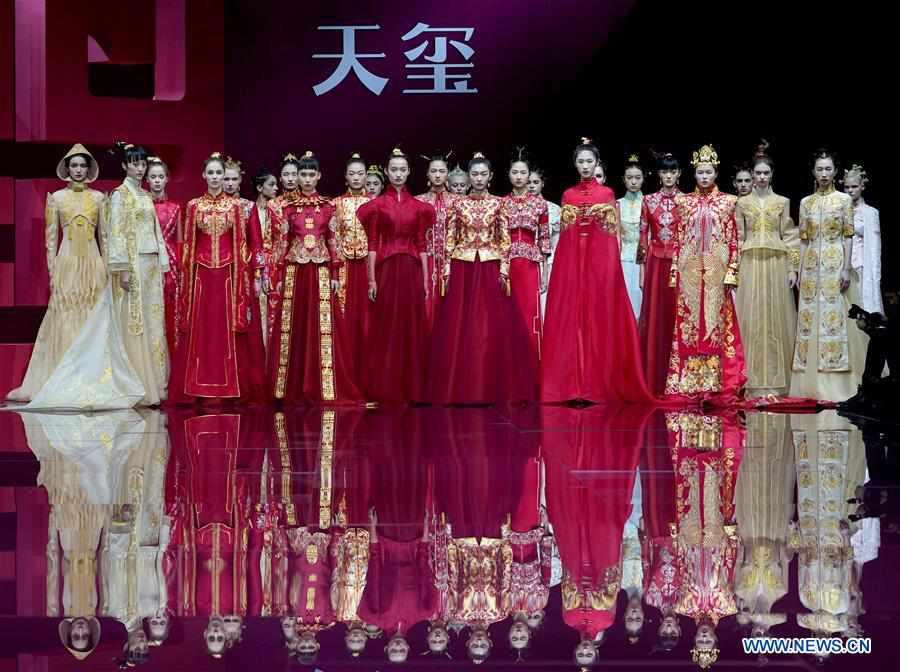 CHINA-BEIJING-FASHION WEEK-TIANXI BY TIA SU (CN)