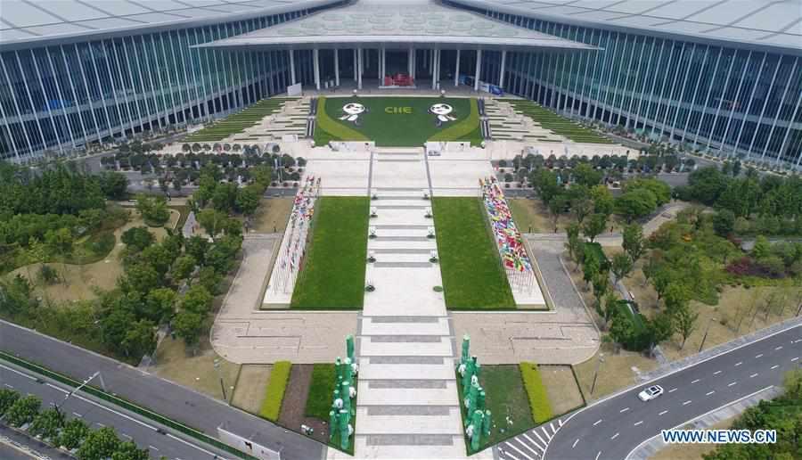 CHINA-SHANGHAI-CIIE-VENUE (CN)