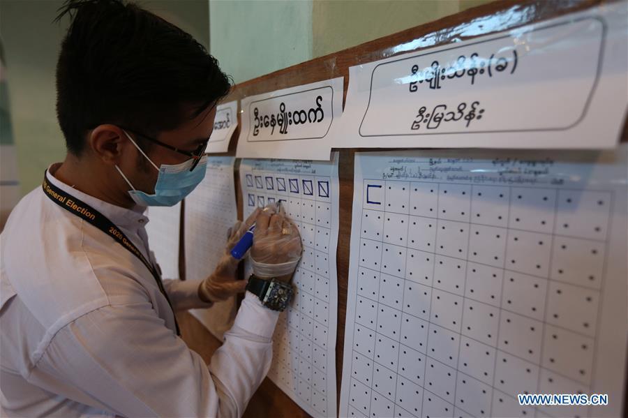 MYANMAR-YANGON-GENERAL ELECTIONS