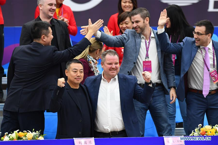 (SP)CHINA-WEIHAI-TABLE TENNIS-ITTF-WOMEN'S WORLD CUP
