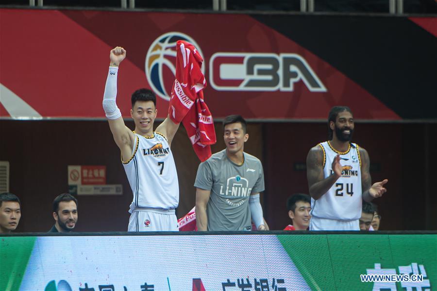 (SP)CHINA-ZHUJI-BASKETBALL-CBA LEAGUE-QINGDAO VS GUANGZHOU(CN)