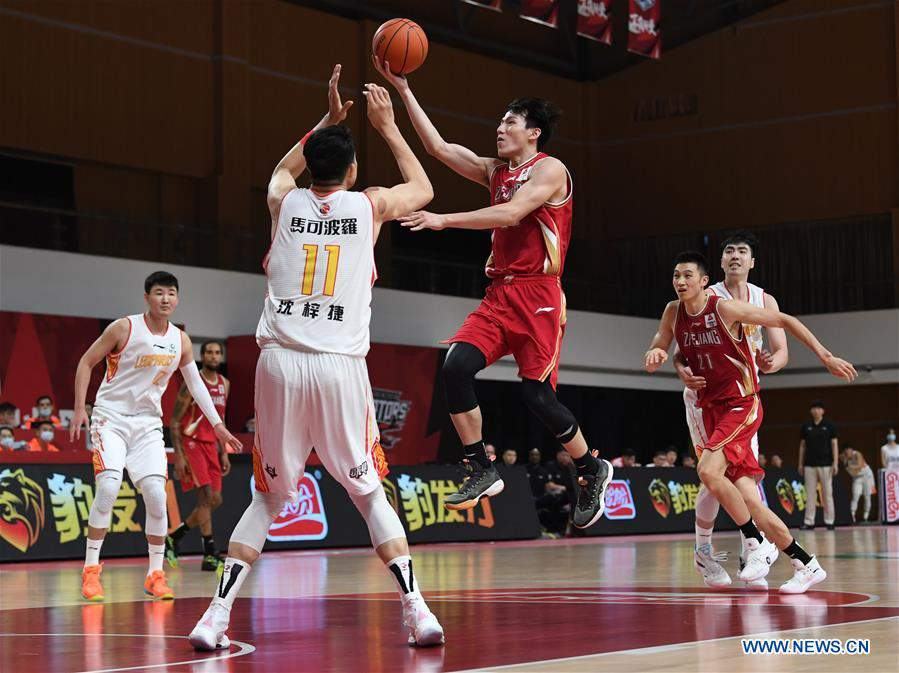(SP)CHINA-ZHUJI-BASKETBALL-CBA LEAGUE-ZHEJIANG VS SHENZHEN(CN)