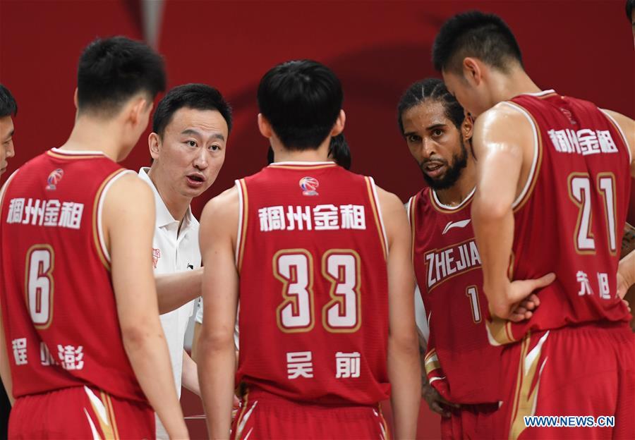 (SP)CHINA-ZHUJI-BASKETBALL-CBA LEAGUE-ZHEJIANG VS SHENZHEN(CN)