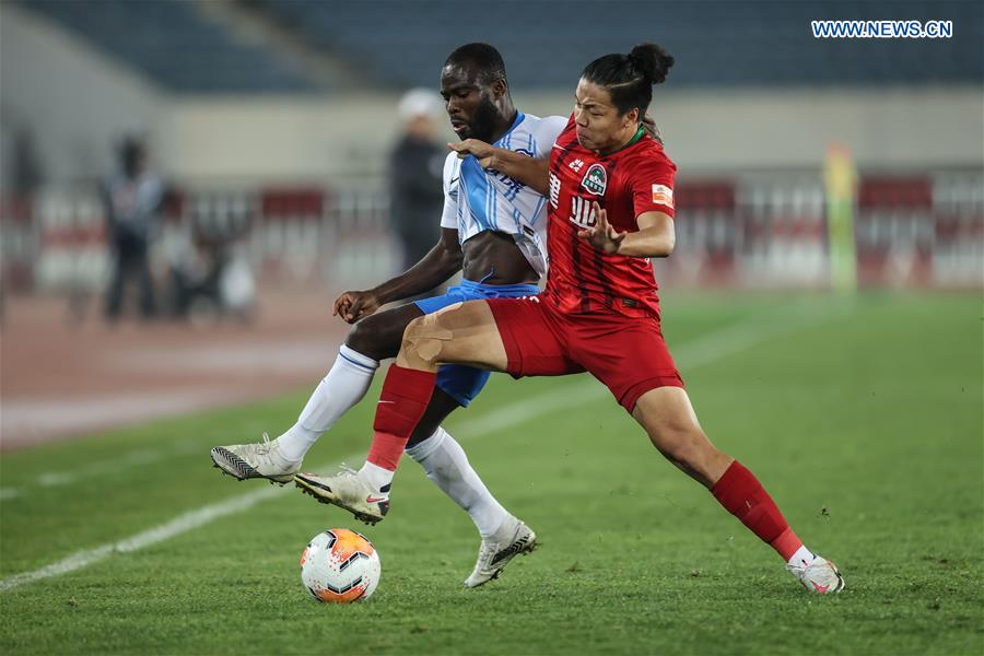 (SP)CHINA-LIAONING-DALIAN-FOOTBALL-CSL-TIANJIN VS HENAN(CN)