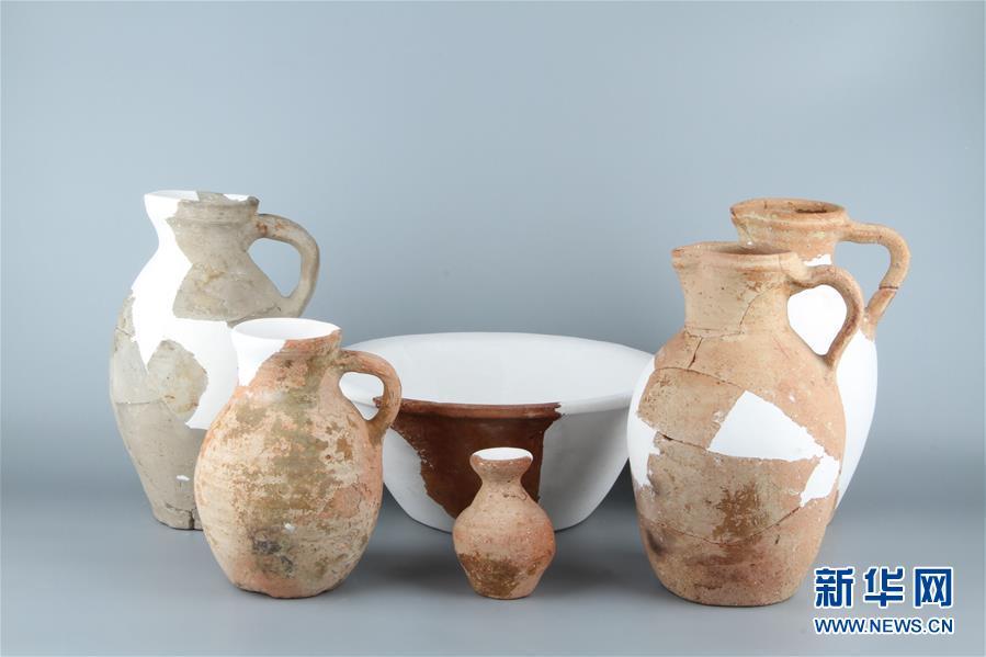 (图文互动)(3)新疆天山北麓发现古代公共浴场遗址