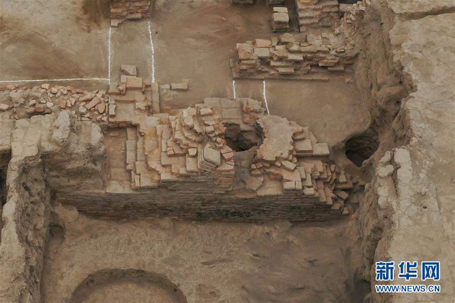 (图文互动)(2)新疆天山北麓发现古代公共浴场遗址
