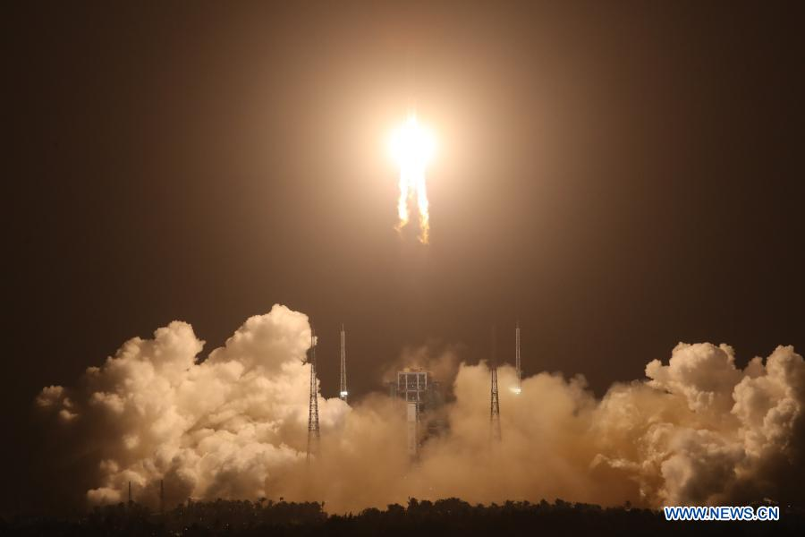 China launches Chang'e-5 to collect, return moon samples