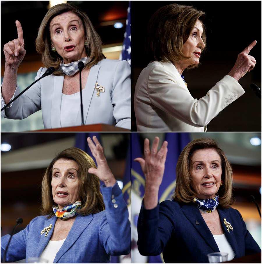 Nancy Pelosi reelected as U.S. House speaker