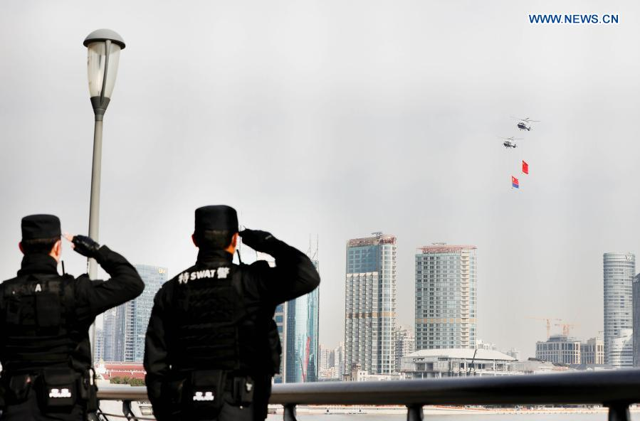 Activities held to mark first Chinese People's Police Day in Shanghai