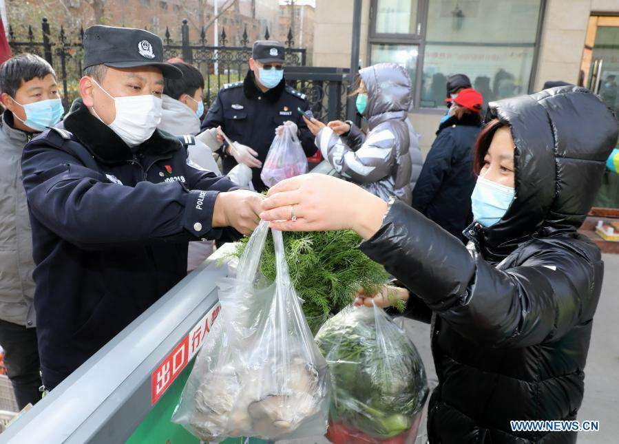 Police in Shijiazhuang stick to posts on first Chinese People's Police Day
