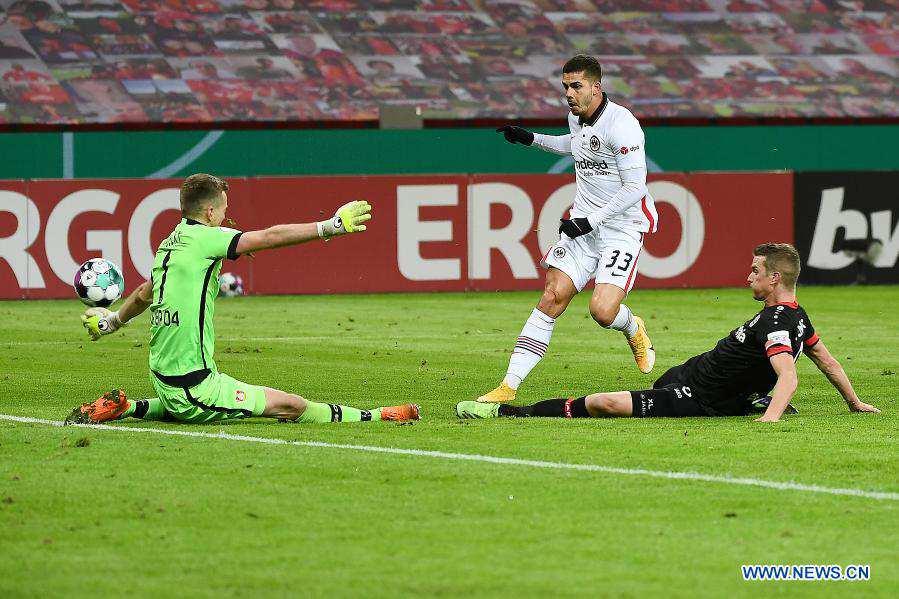 German Cup match: Leverkusen vs. Frankfurt