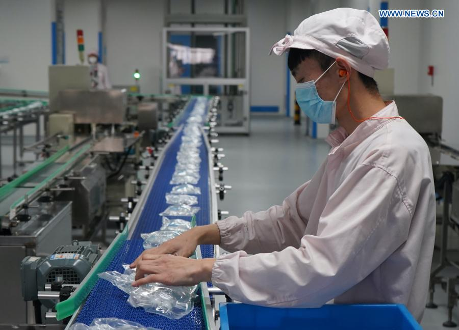 Medical supply companies step up production to ensure medical supply in Shijiazhuang