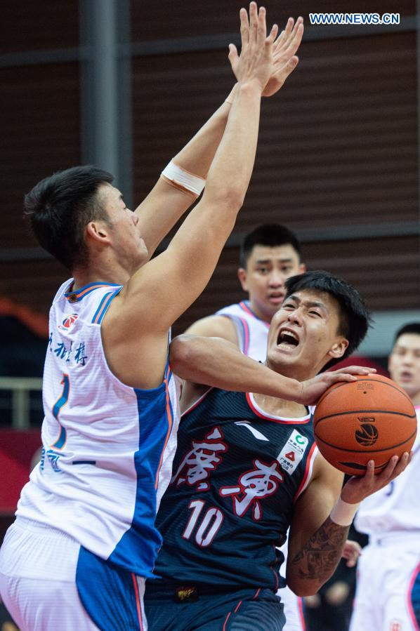 CBA: Sichuan Blue Whales vs. Guangdong Southern Tigers
