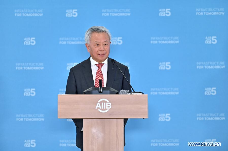 Climate financing to account for half of AIIB's total by 2025: bank president