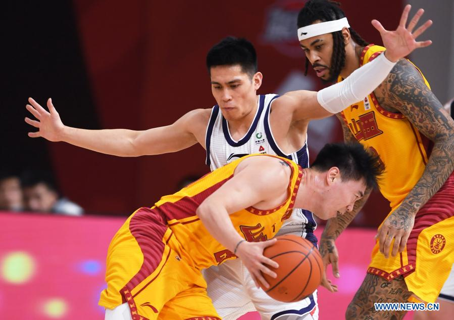 Guangzhou beats Shanxi in CBA