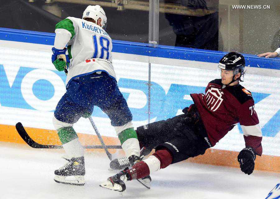 KHL ice hockey match: Dinamo Riga vs. Salavat Yulaev Ufa