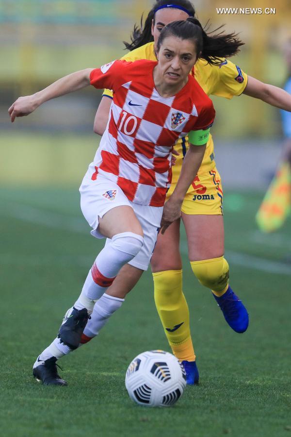 UEFA Women's EURO 2022 qualifier: Croatia vs. Roumania
