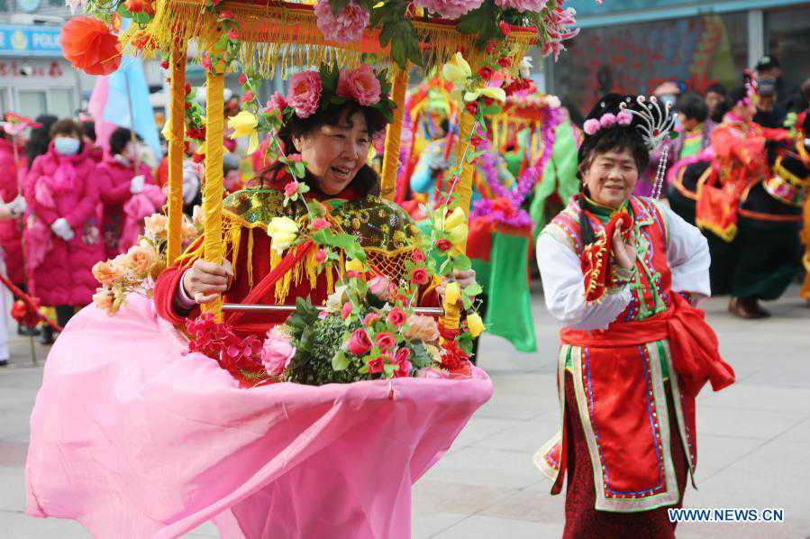 Various activities held across China to celebrate Lantern Festival