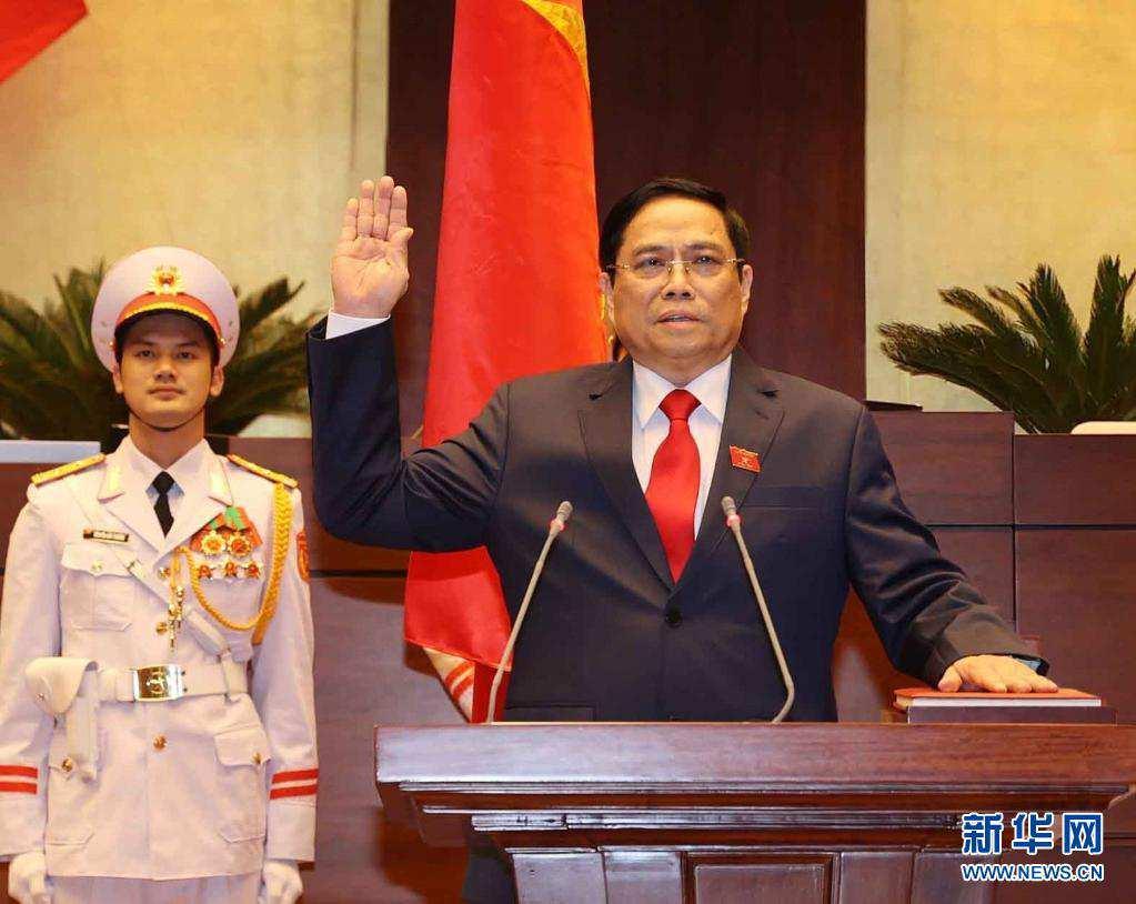 越南国会选举范明政为政府总理