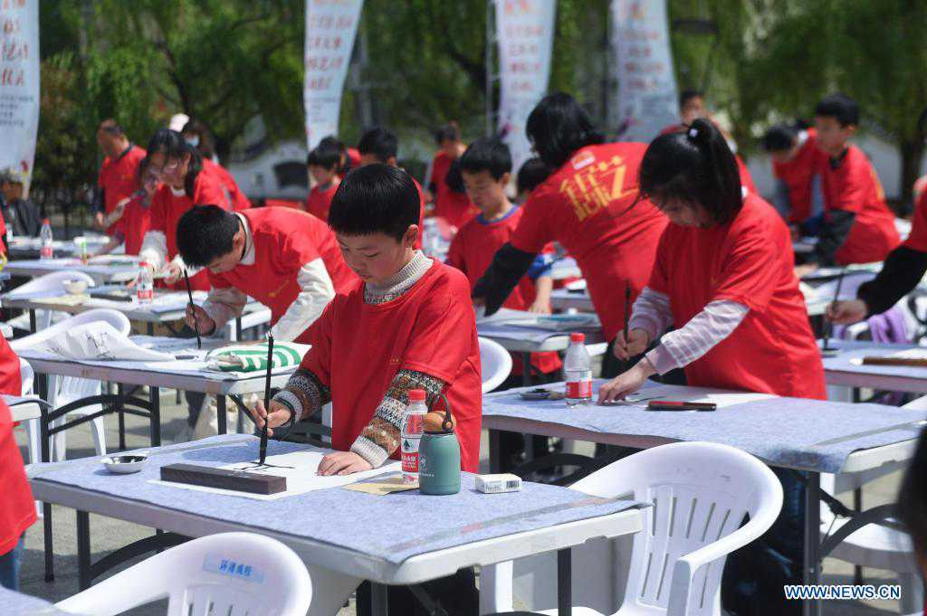 Cultural event held in Changxing County of Huzhou