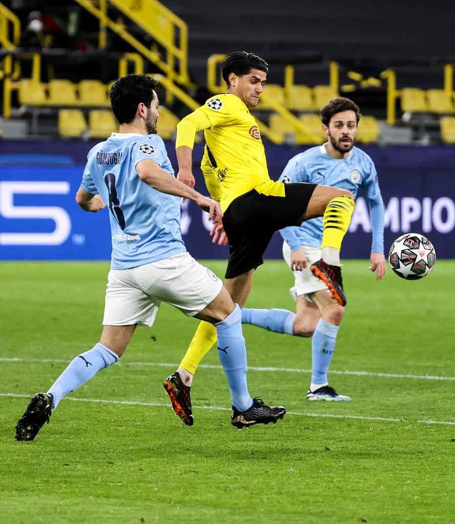 UEFA Champions League: Dortmund vs. Manchester City