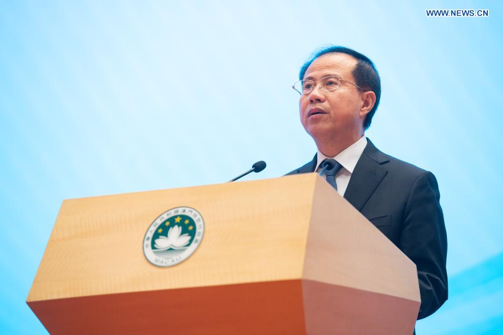 Macao SAR chief executive stresses stepping up system, capacity building for safeguarding national security