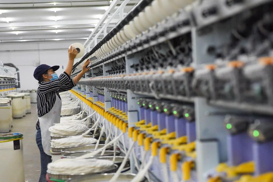 Xinjiang cotton stretches out to bigger market