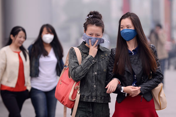 Beijing to keep the lid on air pollution for APEC