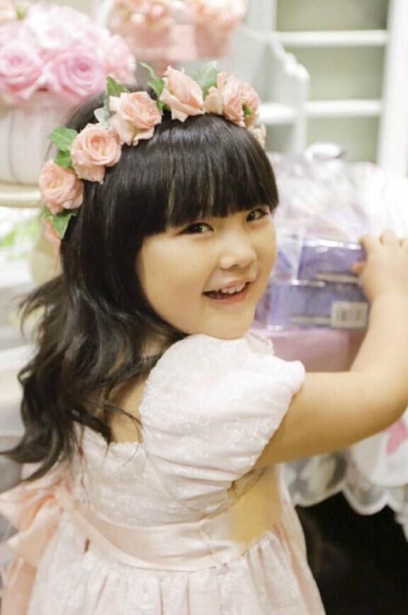 王诗龄韩国庆5岁生日
