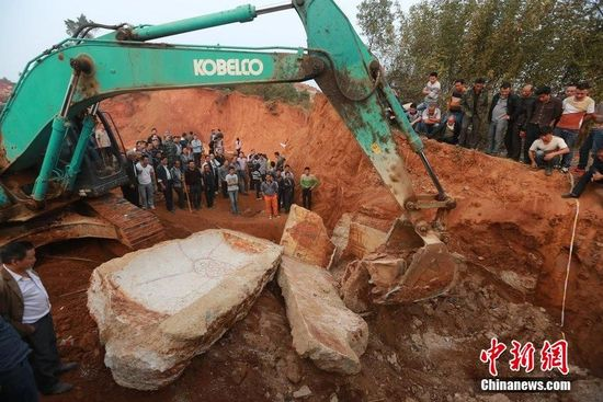 湖南一施工现场发现明代古墓