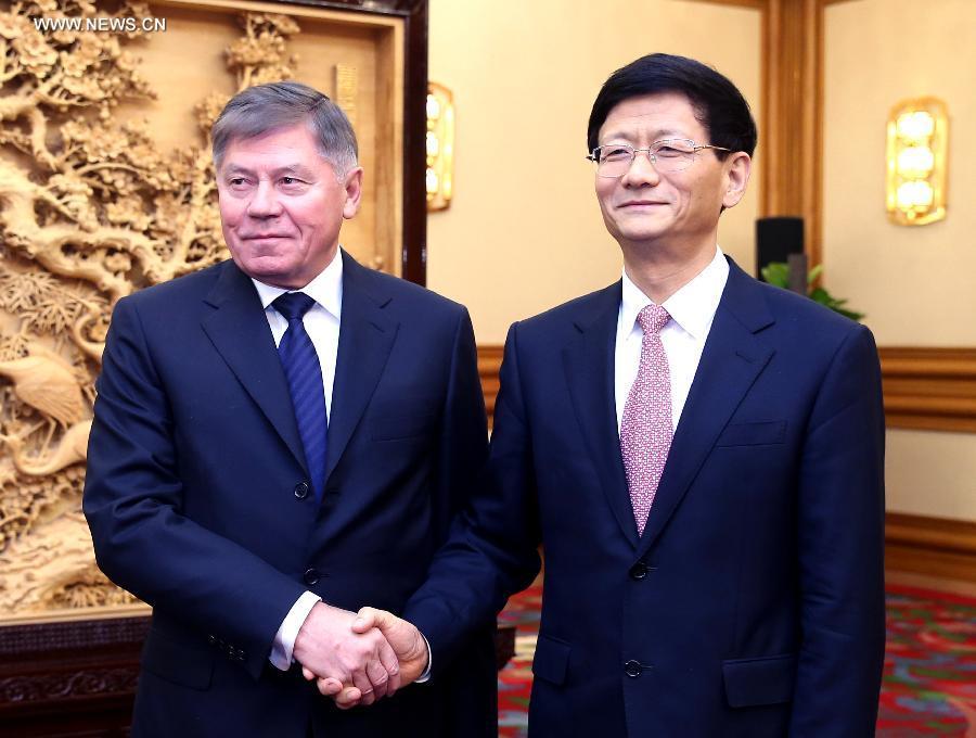 CHINA-BEIJING-MENG JIANZHU-RUSSIA-MEETING (CN)