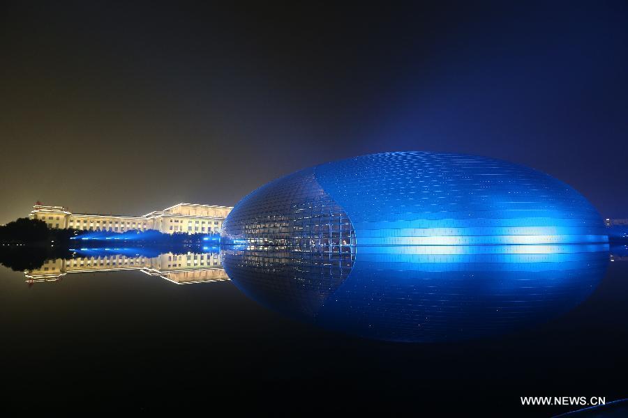 #(APEC 2014) CHINA-BEIJING-APEC-ILLUMINATIONS (CN)