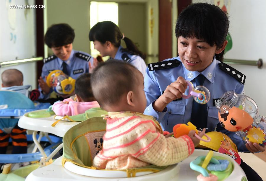 CHINA-YUNNAN-TRAFFICKED BABIES-RESCUE (CN)