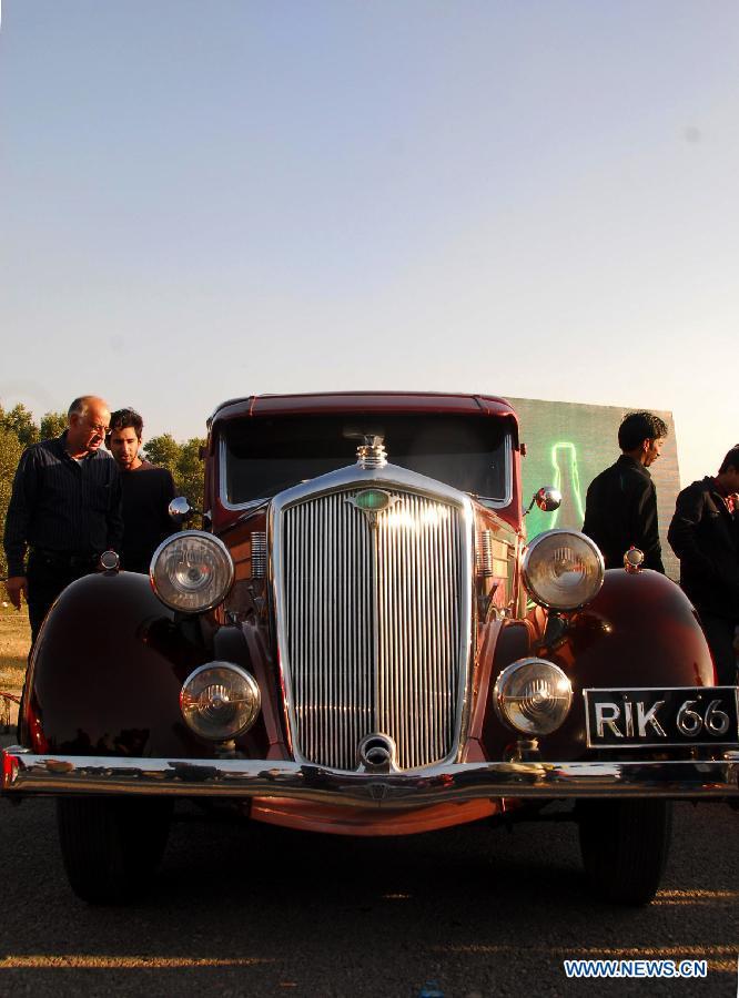 PAKISTAN-ISLAMABAD-AUTO-SHOW