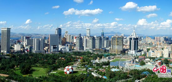 Dalian, one of the 'Top 10 happiest cities in China 2014' by China.org.cn