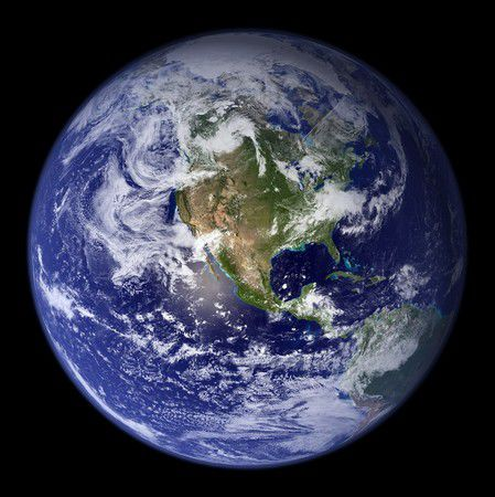 过去人们对水蓝色地球的印象来自这张照片。(图/翻摄自每日邮报)