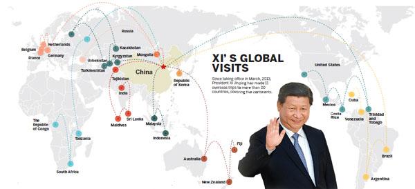 Global partnership vision has taken shape, FM says
