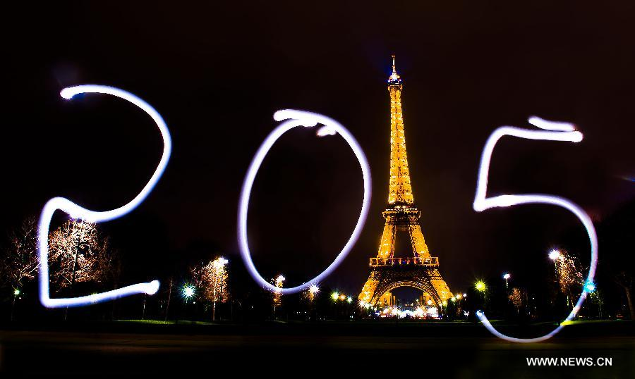 FRANCE-PARIS-NEW YEAR