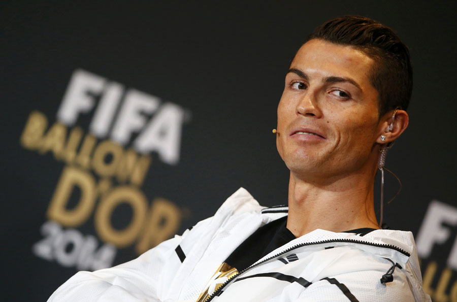 Ronaldo leaves Messi in shade with 3rd Ballon d'Or
