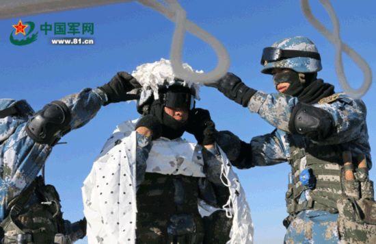 海上蛟龙征战林海雪原 海军陆战队全域作战成常态