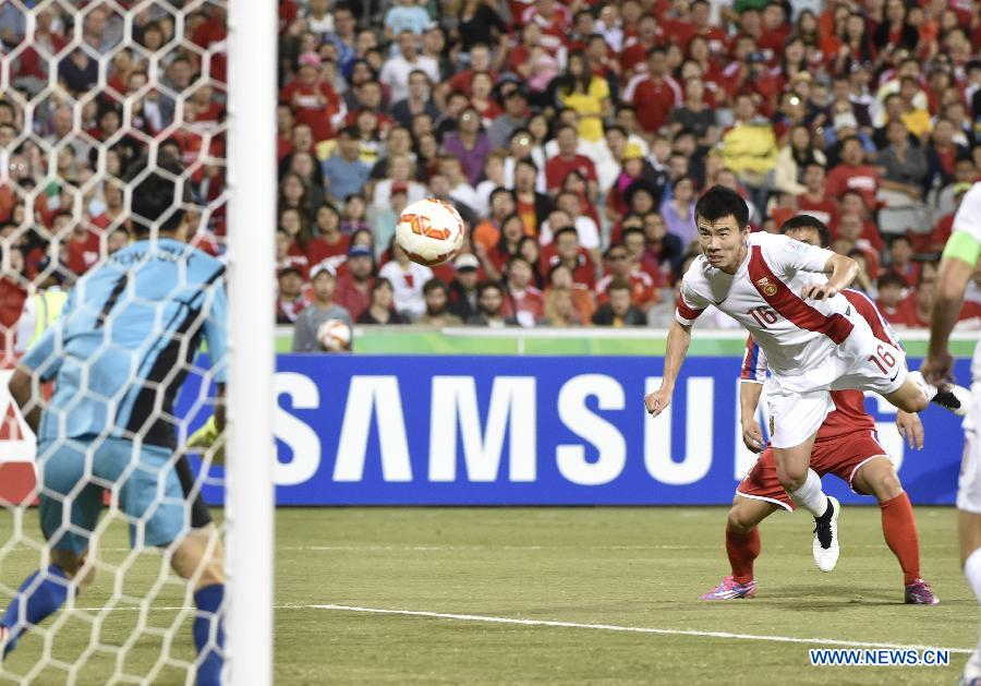 (SP)AUSTRALIA-CANBERRA-AFC ASIAN CUP-GROUP B-CHN VS PRK
