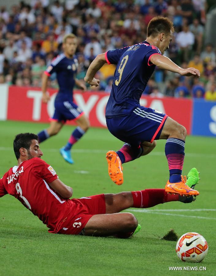 Japan Won 2-0.